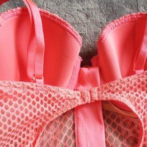 Victoria's Secret Intimates & Sleepwear - Victoria's Secret VERY SEXY fishnet lined demi